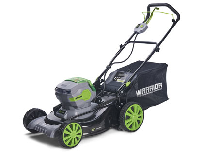 Cordless 50cm Self Propelled Lawn Mower